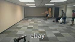 720 sq ft Brand New Carpet Tile Square Tiles Gray Black Silver Modular Assorted