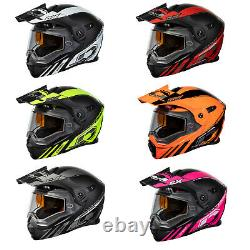 Adult Castle X Dual Sport Modular Snowmobile Helmet DOT CX950 Task ATV UTV SxS