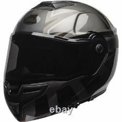 Bell Helmets SRT Blackout Modular Helmet Matte Grey/Black, All Sizes