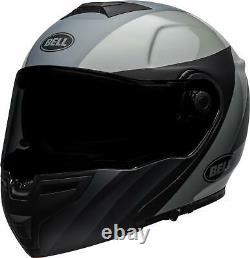Bell Helmets SRT Modular Presence Helmet (XX-Large, Matte/Gloss Black/Gray)