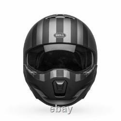 Bell Motorcycle Helmet Broozer Free Ride Matte Grey/black Small 7121931