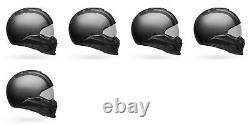 Bell Powersports Broozer Modular Helmet FREE RIDE MATTE GREY