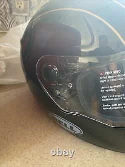 Bell SRT Helmet Buster Gloss Black/Yellowith Gray Medium $369.95 retail