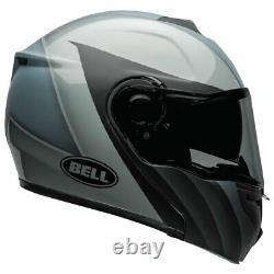 Bell SRT Modular 2020 Matt Black / Gloss Grey Motorcycle Motorbike Helmet