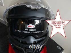 Bell SRT Modular Blackout FREE DARK VISOR FAST & FREE UK DELIVERY