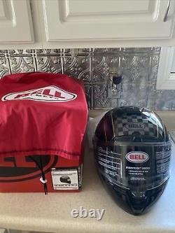 Bell SRT Modular Helmet Buster Gloss Black/Yellowith Gray Medium $369.95 retail