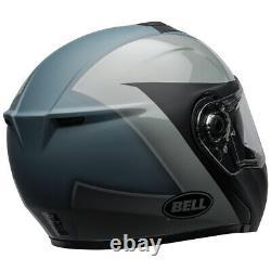 Bell Srt Modular Flip-up Motorcycle Helmet Presence Gray Dot Approved Drop Down