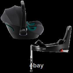 Car seat BRITAX ROEMER iSENSE MODULAR SYSTEM BUNDLE Midnight Grey + Space Black