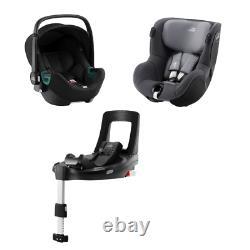 Car seat BRITAX ROEMER iSENSE MODULAR SYSTEM BUNDLE Space Black + Midnight Grey