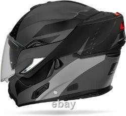 Casco Modulare Airoh Rev 19 Leaden Grey Matt Black Mentoniera Ribaltabile Tg XL