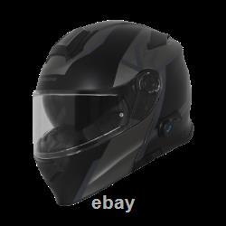 Casco Modulare Origine Delta Level Matt Grey-black Moto Scooter Bluetooth