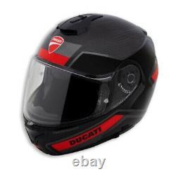 Ducati Nolan x-Lite Horizon V2 Helmet Carbon Flip up Sun Visor Modular
