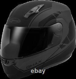 GMAX Md-04 Modular Article Helmet Matte Black/Grey Sm