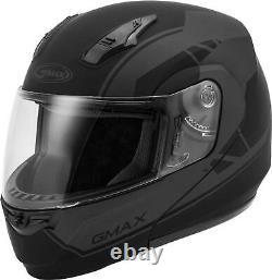 Gmax Md-04 Modular Article Helmet Matte Black/grey Lg G1042506