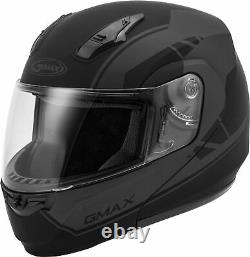 Gmax Md-04 Modular Article Helmet Matte Black/grey MD # G1042505