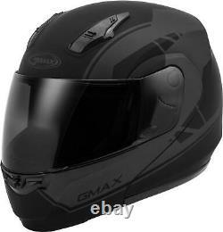 Gmax Md-04 Modular Article Helmet Matte Black/grey Xs G1042503