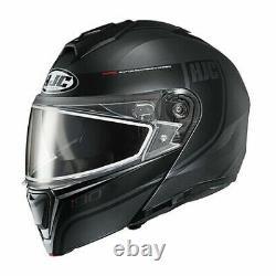 HJC 1615-755 I90 Modular Davan Snow Helmet withDual Pane Shield Black/Grey Size X