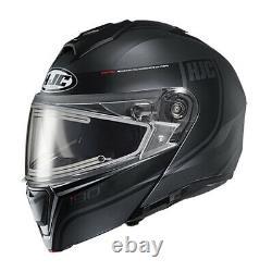 HJC Adult i90 Modular Davan Snow Helmet withElectric Shield Black/Grey Md