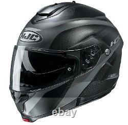 HJC C91 Taly Modular Motorcycle Helmet Gray/Black