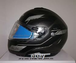 HJC CL-MAX3 Flow Electric Snowmobile Helmet Gray Black Medium Modular Sunscreen
