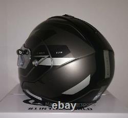 HJC CL-MAX3 Flow Electric Snowmobile Helmet Gray Black Small Modular Sunscreen