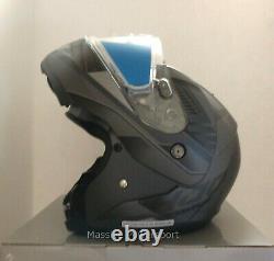 HJC CL-MAX3 Gallant Snowmobile Helmet Gray / Black SM Small Modular Sunscreen