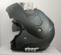 HJC CL-MAX3 Motorcycle Helmet Semi Flat Anthracite M MD Medium Modular Sunscreen