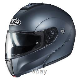 HJC CL-MAX3 Motorcycle Helmet Semi Flat Anthracite S SM Small Modular Sunscreen