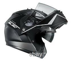 HJC IS-MAX II Mine Full Face Modular Motorcycle Helmet, Matte Black/Grey/White