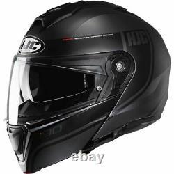 HJC i90 Davan Modular Helmet Black/Grey, All Sizes