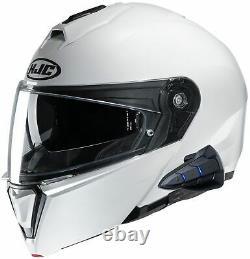 HJC i90 Modular Helmet with Sena Smart HJC 10B Pre-Installed