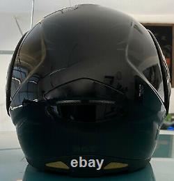 Harley Davidson Black with Gray Ghost Flames Modular Motorcycle Helmet XL