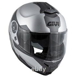 Helmet GIVI X. 21 Challenger Spirit Silver Matt/ Titanium/Black