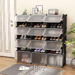 JOISCOPE Portable Shoe Storage Organzier Tower, Modular Cabinet for Space Ideal