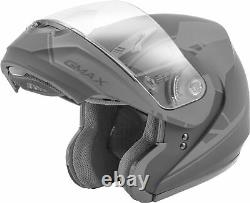 MD-04 Article Modular Helmet Matte Black/Grey Small Gmax G1042504