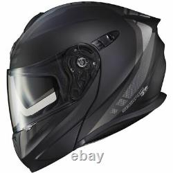 Matte Black/Dark Grey Sz XXL Scorpion EXO EXO-GT920 Unit Modular Helmet