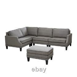 Modular Sofa Left Arm Grey 339