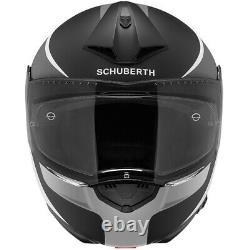 Motorcycle Helmet Modular Fiber Glass SCHUBERTH C3 PRO Sextant Grey/Matte Black
