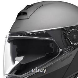 Motorcycle Helmet Modular SCHUBERTH C4 Pro Swipe Grey Black/Anthracite SIZE XS
