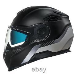 NEXX X. Vilitur Latitude Black Titanium Matte Flip Up Modular Motorcycle Helmet