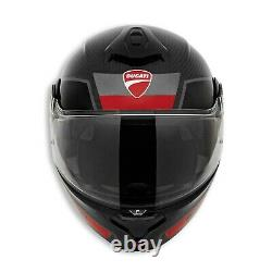 New Ducati Horizon V2 Helmet Unisex M Black/Red/Grey #981072444