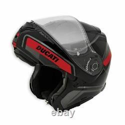 New Ducati Horizon V2 Helmet Unisex S Black/Red/Grey #981072443