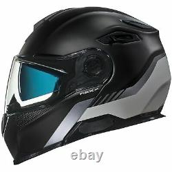 Nexx X VILITUR Touring Modular Motorcycle Helmet Latitude Black / Grey XL