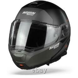 Nolan N100-5 Plus Distinctive 21 Flat Black Modular helmet- Free shipping