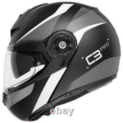 Schuberth C3 Pro Sestante Black Grey Modular Helmet