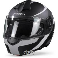 Schuberth C3 Pro Sestante Black Grey Modular Helmet Nouveau! Livraison