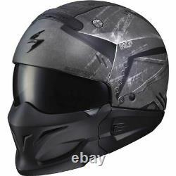 Scorpion EXO Covert Incursion Phantom Modular Helmet Matte Blk/Grey, All Sizes