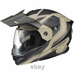 Scorpion EXO EXO-AT950 Tuscon Modular Dual Sport Helmet-Sand/Grey/Blk, All Sizes