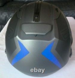 Shark EVO-ONE 2 Slasher Modular Flip-Up Helmet in Matte Grey/Black Size Medium