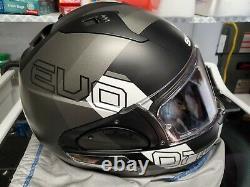 Shark EVO-One 2 Slasher Modular Helmet Black/Gray/White